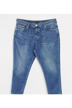 River Island Men Tapered - Big & Tall tapered jeans in