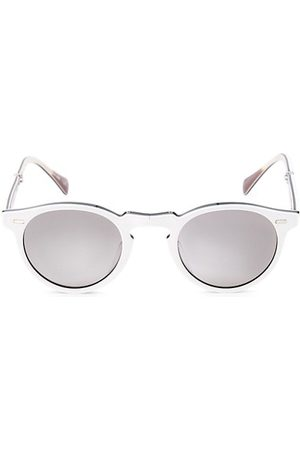 Oliver Peoples Men Sunglasses - Gregory Peck 1962 47MM Phantos Sunglasses