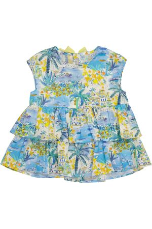 Il gufo Printed cotton dress