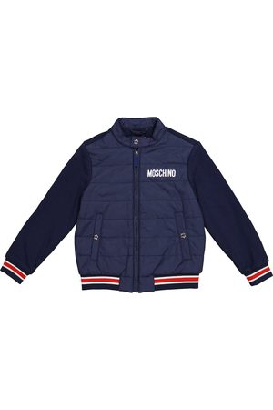 Moschino Boys Jackets - Quilted cotton jacket