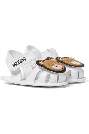 Moschino Baby leather sandals