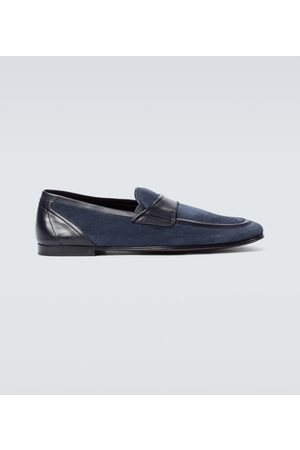 Dolce & Gabbana Men Loafers - Suede loafers