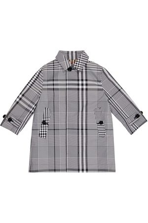 Burberry Boys Coats - Vintage Check reversible gabardine coat