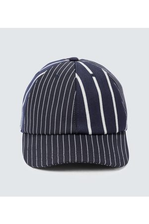 Thom Browne Pinstriped baseball cap
