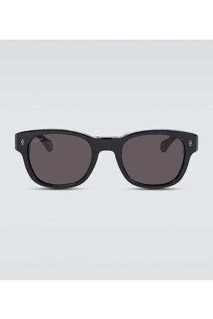 CARTIER EYEWEAR Square-frame acetate sunglasses