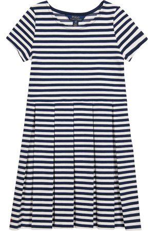 Ralph Lauren Striped cotton-blend knit dress