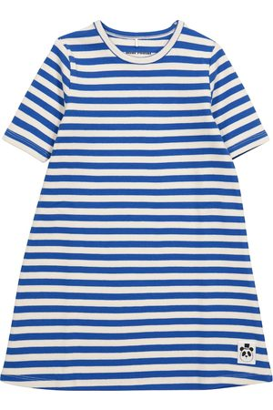 Mini Rodini Girls Casual Dresses - Striped stretch-cotton jersey dress