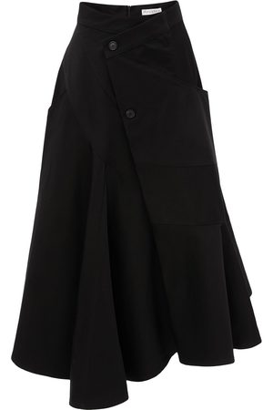 J.W.Anderson Wrap-effect flared skirt