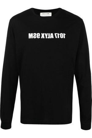 1017 ALYX 9SM Men Long Sleeve - Reserve logo-print cotton T-shirt
