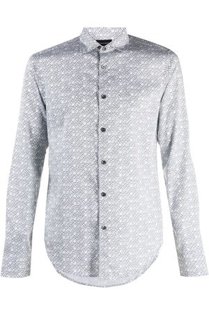 Emporio Armani Printed button-up shirt
