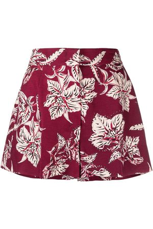 Dorothee Schumacher Structured Florals high-waist shorts