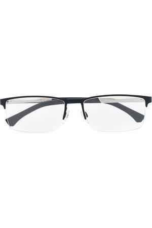 Emporio Armani Logo square glasses