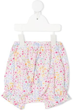 SIOLA Floral-print shorts