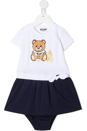 Moschino Teddy bear-print dress