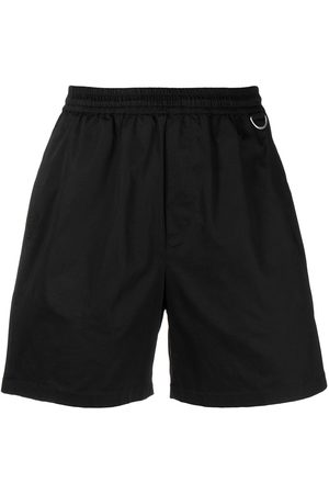 LOW BRAND Elasticated cotton-blend shorts