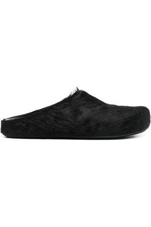 Marni Men Footwear - Calf hair slippers