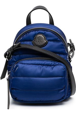 Moncler Women Rucksacks - Logo-patch micro backpack