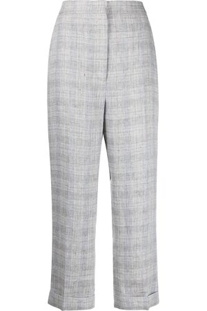 Fabiana Filippi Women Trousers - Checked cropped trousers