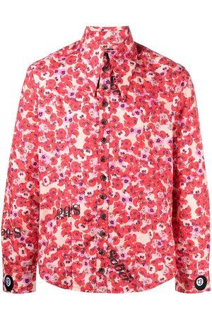 DUOltd Floral button-down shirt