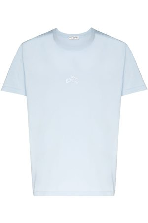 Givenchy Embroidered refracted logo T-shirt