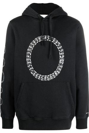 1017 ALYX 9SM Chain-link print hoodie