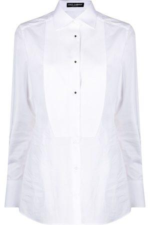 Dolce & Gabbana Women Long Sleeve - Long-sleeve poplin shirt