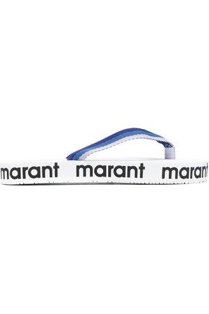 Isabel Marant Logo-printed flip-flops
