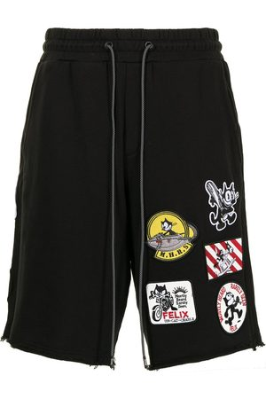MOSTLY HEARD RARELY SEEN Felix Patch sweat shorts