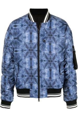 MOSTLY HEARD RARELY SEEN Kaleidoscope bomber jacket