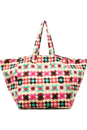 La DoubleJ Women Handbags - Geometric reversible tote