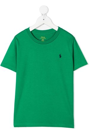 Ralph Lauren Polo Pony embroidered cotton t-shirt