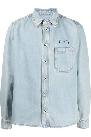 OFF-WHITE Arrows motif denim shirt