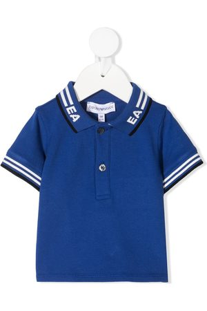 Emporio Armani Polo Shirts - Logo-collar polo shirt