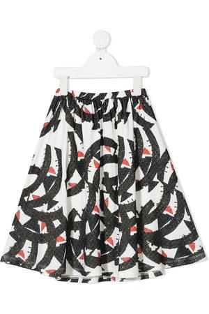Wolf & Rita Girls Printed Skirts - Graphic print midi skirt