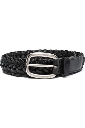 Golden Goose Men Belts - Houston braided belt