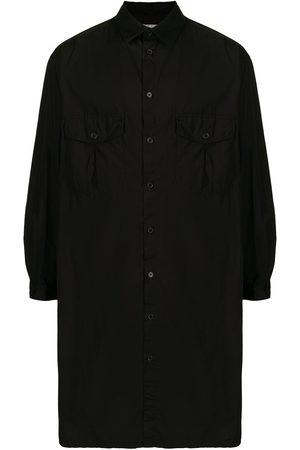 YOHJI YAMAMOTO Chainstitch Gather long shirt