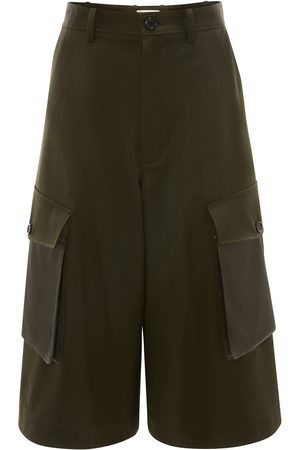 J.W.Anderson Women Cargo Trousers - Cropped cargo trousers