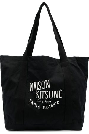 Maison Kitsuné Logo-print shopper bag