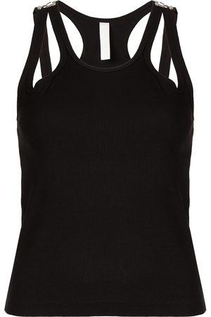 DION LEE Women Tops - Teardrop rib-knit top