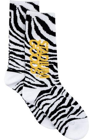 Stadium Goods Men Socks - Zebra-print socks