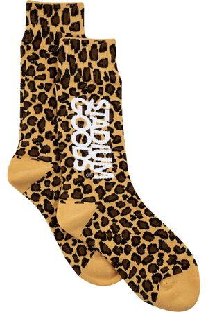 Stadium Goods Men Socks - Leopard-print socks