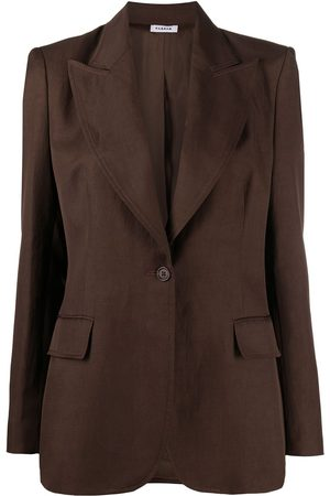 P.a.r.o.s.h. Women Blazers - Single-breasted tailored blazer