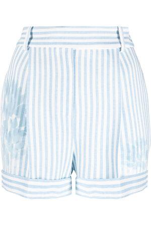 ERMANNO SCERVINO Striped tailored shorts