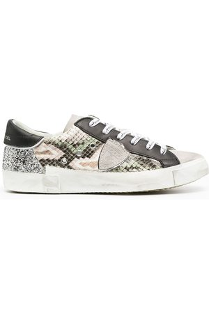 Philippe model Prsx Python Glitter low-top sneakers