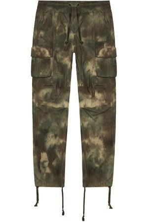 JOHN ELLIOTT Camouflage tie-dye cargo pants