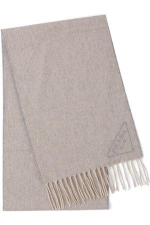 Prada Intarsia-logo scarf