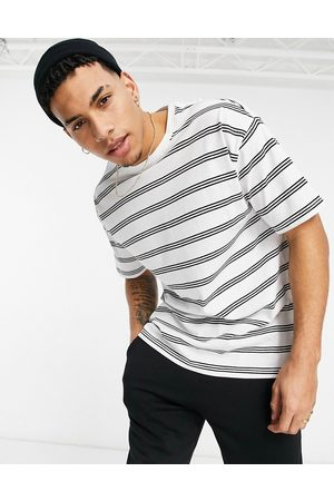 New Look Oversized stripe t-shirt in