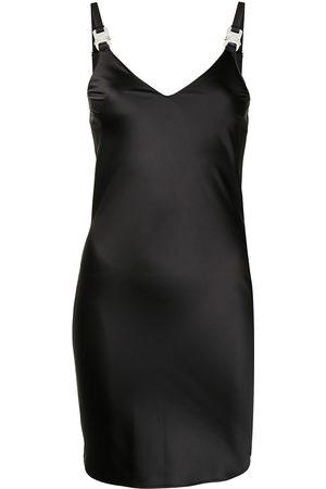 1017 ALYX 9SM V-neck buckle-fastening dress