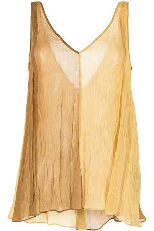 Dorothee Schumacher Women Vests - Two-tone vest top