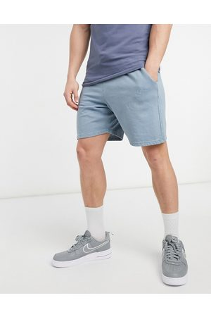 New Look Washed jersey short with embroidered NLM in